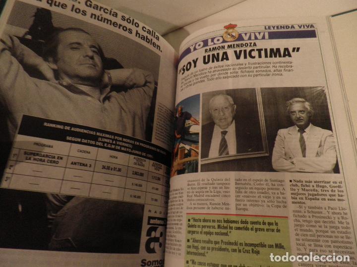 Coleccionismo deportivo: REAL MADRID, LEYENDA VIVA, COLECCIONABLE MARCA - 15 FASCICULOS - ENCUADERNADO - Foto 12 - 114129107