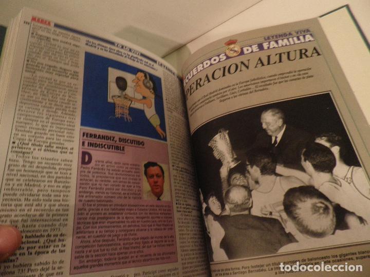 Coleccionismo deportivo: REAL MADRID, LEYENDA VIVA, COLECCIONABLE MARCA - 15 FASCICULOS - ENCUADERNADO - Foto 13 - 114129107