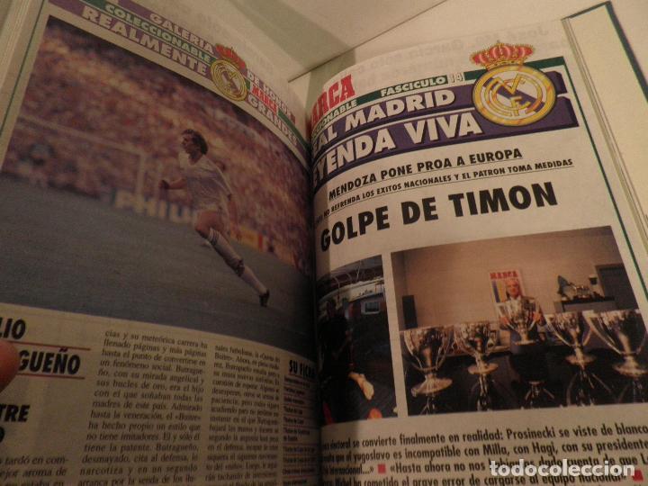 Coleccionismo deportivo: REAL MADRID, LEYENDA VIVA, COLECCIONABLE MARCA - 15 FASCICULOS - ENCUADERNADO - Foto 14 - 114129107