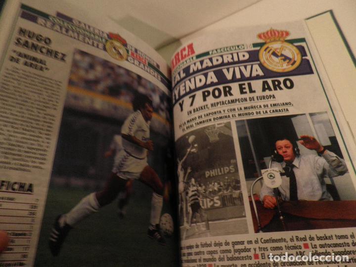 Coleccionismo deportivo: REAL MADRID, LEYENDA VIVA, COLECCIONABLE MARCA - 15 FASCICULOS - ENCUADERNADO - Foto 15 - 114129107