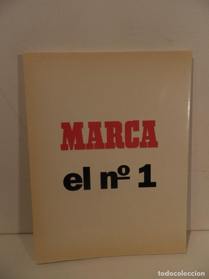 Coleccionismo deportivo: ATLÉTICO DE MADRID GENIO Y FIGURA, UN GRANDE EN LA HISTORIA. MARCA 1995. ENCUADERNADO - Foto 2 - 114129195