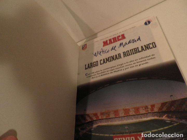 Coleccionismo deportivo: ATLÉTICO DE MADRID GENIO Y FIGURA, UN GRANDE EN LA HISTORIA. MARCA 1995. ENCUADERNADO - Foto 3 - 114129195