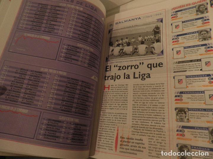 Coleccionismo deportivo: ATLÉTICO DE MADRID GENIO Y FIGURA, UN GRANDE EN LA HISTORIA. MARCA 1995. ENCUADERNADO - Foto 5 - 114129195
