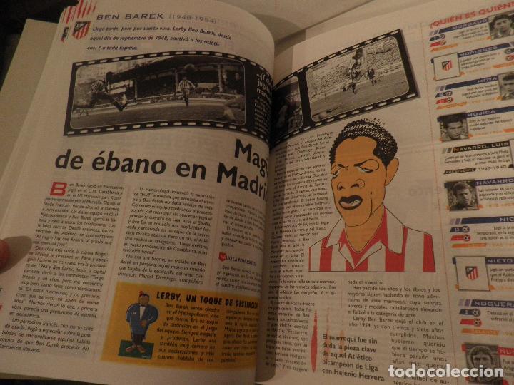 Coleccionismo deportivo: ATLÉTICO DE MADRID GENIO Y FIGURA, UN GRANDE EN LA HISTORIA. MARCA 1995. ENCUADERNADO - Foto 6 - 114129195