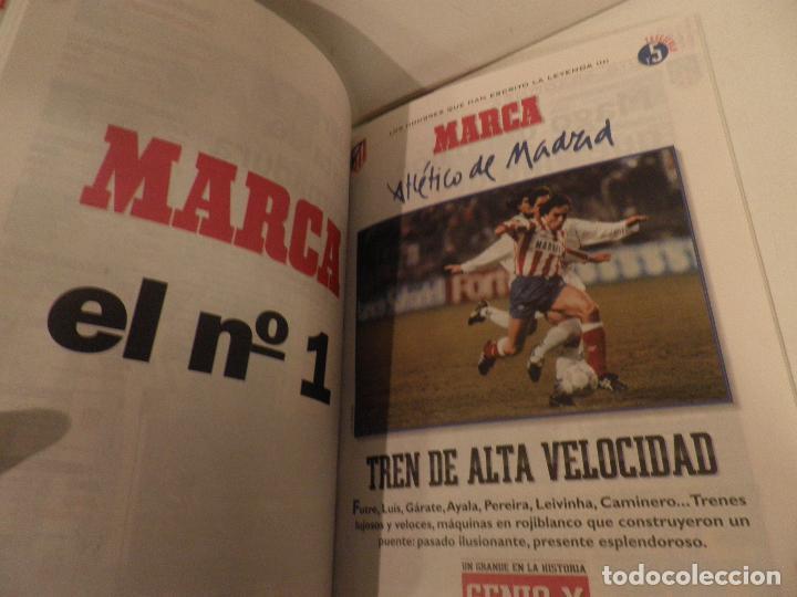 Coleccionismo deportivo: ATLÉTICO DE MADRID GENIO Y FIGURA, UN GRANDE EN LA HISTORIA. MARCA 1995. ENCUADERNADO - Foto 8 - 114129195