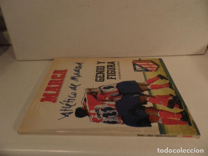 Coleccionismo deportivo: ATLÉTICO DE MADRID GENIO Y FIGURA, UN GRANDE EN LA HISTORIA. MARCA 1995. ENCUADERNADO - Foto 10 - 114129195