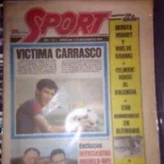 Coleccionismo deportivo: SPORT AÑO 1 N1 3 DE NOVIEMBRE 1979 ORIGINAL. Lote 114169259