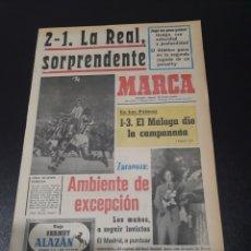 Collezionismo sportivo: MARCA.22/10/1972. ATLÉTICO,2 - REAL SOCIEDAD,1.. Lote 114218966