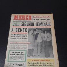 Coleccionismo deportivo: MARCA. 14/12/1972. HOY HOMENAJE A GENTO. UEFA. LAS PALMAS,2 - TWENTE,1. RESUMEN JORNADA EUROPEA.. Lote 114222819