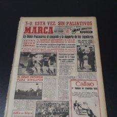 Coleccionismo deportivo - MARCA. 31/10/1960. AUSTRIA,3 - ESPAÑA,0. PARTIDOS DE COPA. - 114267614