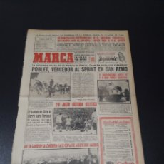 Coleccionismo deportivo: MARCA. 22/05/1961. RESUMEN OCTAVOS FINAL COPA.. Lote 114309987