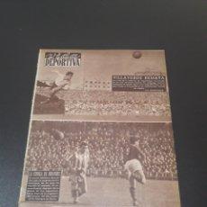 Coleccionismo deportivo: VIDA DEPORTIVA. N° 536. 27/12/1955. BARCELONA,6 - COPENHAGUE,2. COPA EUROPA. R.MADRID,4 - PARTIZAN,0. Lote 114506688