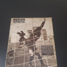 Coleccionismo deportivo: VIDA DEPORTIVA. N° 541. 30/01/1956. COPA EUROPA. PARTIZAN,3 - R.MADRID,0. CATALUÑA,3 - LUTON TOWN,1.. Lote 114508864