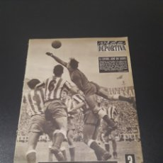 Coleccionismo deportivo: VIDA DEPORTIVA. N° 560. 11/06/1956. SEMIFINAL COPA. R.MADRID,2 - BILBAO,2. ESPAÑOL,1 - AT.MADRID,2.. Lote 114534338