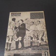 Coleccionismo deportivo: VIDA DEPORTIVA. 561. COPA EUROPA 1955/56. FINAL. R.MADRID,4 - STADE REIMS,3.. Lote 114534520