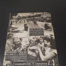 Coleccionismo deportivo: VIDA DEPORTIVA. N° 564. 9/07/1956. FINAL COPA LATINA. MILAN,3 - BILBAO,1.. Lote 114535623