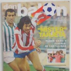 Coleccionismo deportivo: REVISTA DON BALON Nº 332 DEL 16 AL 22 FEBRERO DE 1982 PAGINA CENTRAL ALESANCO. Lote 114598335