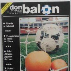 Coleccionismo deportivo: REVISTA DON BALON Nº 383 DEL 8 AL 14 DE FEBRERO DE 1983 PAGINA CENTRAL CROMOS U.D.LAS PALMAS. Lote 114598671