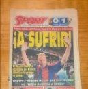 Coleccionismo deportivo: PERIÓDICO SPORT - 11 JUNIO 1995 - BARÇA 0 ALBACETE 1 - DESPEDIDA DE KOEMAN. Lote 114626331