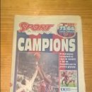 Coleccionismo deportivo: PERIÓDICO SPORT - 22 MAYO 1995 - BARÇA CAMPEÓN DE LA ACB. Lote 114629131