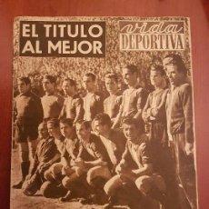 Coleccionismo deportivo: VIDA DEPORTIVA 189 ABRIL 1949 BARÇA FÚTBOL CLUB BARCELONA CAMPEÓN DE LIGA 1948-49 ESPAÑA. Lote 114637859