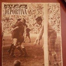 Coleccionismo deportivo: VIDA DEPORTIVA ABRIL 1952 BARÇA FÚTBOL CLUB BARCELONA DE KUBALA CAMPEÓN DE LIGA ESPAÑA. Lote 114639839