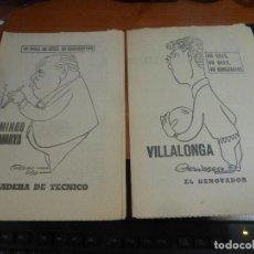Coleccionismo deportivo: VILLALONGA Y DOMINGO BALMANYA, 40 DIAS, 40 ASES, 40 BIOGRAFIAS. Lote 114685639