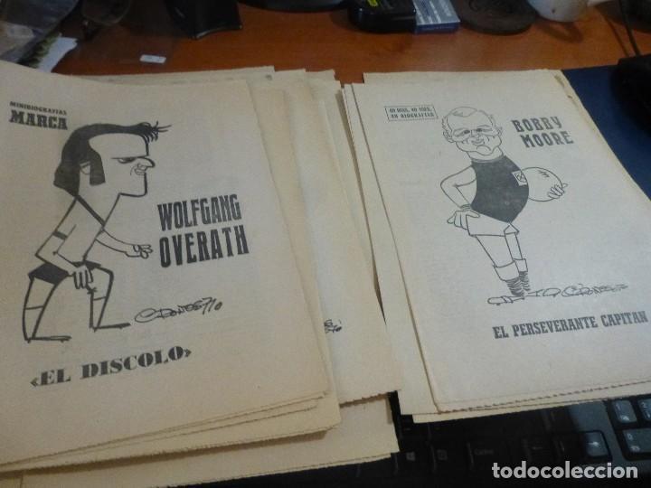 Coleccionismo deportivo: 25 biografias de jugadores extranjeros del coleccionable 40 dias, 40 ases, 40 biografias - Foto 5 - 114687535
