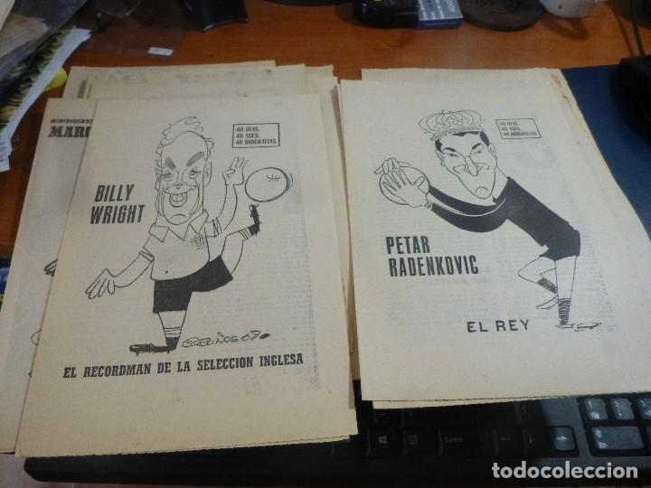 Coleccionismo deportivo: 25 biografias de jugadores extranjeros del coleccionable 40 dias, 40 ases, 40 biografias - Foto 6 - 114687535