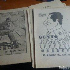 Coleccionismo deportivo: 21 BIOGRAFIAS DE JUGADORES DEL REAL MADRID DEL COLECCIONABLE 40 DIAS, 40 ASES, 40 BIOGRAFIAS. Lote 114691263