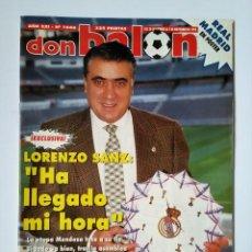 Coleccionismo deportivo: DON BALÓN 1046. LORENZO SANZ - SERRA FERRER - ATLÉTICO - MIJATOVIC.. Lote 114706499
