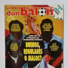 Coleccionismo deportivo: DON BALÓN 1048. GUILHERME - REAL MADRID VS ATLÉTICO - ZARAGOZA - WEAH - ZIGANDA.. Lote 114715079