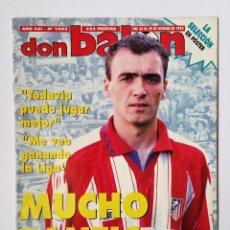 Coleccionismo deportivo: DON BALÓN 1045. PANTIC - COMPOSTELA - BUTRAGUEÑO - DI LIVIO + PÓSTER DE LA SELECCIÓN ESPAÑOLA 95/96.. Lote 114717819