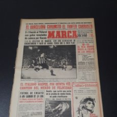 Coleccionismo deportivo - MARCA. 28/08/1961. FINAL CARRANZA. BARCELONA,2 - PEÑAROL,1. HOMENAJE A KUBALA. - 114787507
