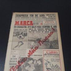 Coleccionismo deportivo: MARCA. 1/01/1962. RESUMEN JORNADA LIGA N° 17.. Lote 114859627