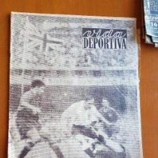 Collectionnisme sportif: VIDA DEPORTIVA JULIO 1950 ESPAÑA 1 INGLATERRA 0 GOL DE ZARRA MUNDIAL DE FÚTBOL BRASIL. Lote 114937551