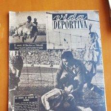 Coleccionismo deportivo: VIDA DEPORTIVA NOVIEMBRE 1948 PORTADA RCD ESPANYOL ESPAÑOL 1 CLUB DEPORTIVO ALCOYANO FÚTBOL. Lote 114938003