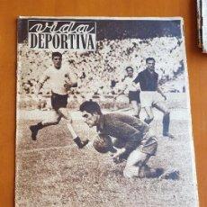 Coleccionismo deportivo: VIDA DEPORTIVA JUNIO 1952 BARÇA FÚTBOL CLUB BARCELONA 1 CAMPEÓN COPA LATINA NIZA 0. Lote 114938131