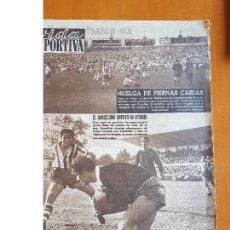 Coleccionismo deportivo: VIDA DEPORTIVA SEPTIEMBRE 1954 HUELGA PIERNAS CAÍDAS RCD ESPANYOL ESPAÑOL ESTADIO SARRIÁ LIGA. Lote 114938271