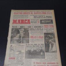 Coleccionismo deportivo: MARCA. 13/05/1963. JORNADA DE COPA. ELCHE,4 - BARCELONA,1.. Lote 114996636
