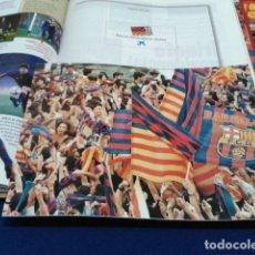 Coleccionismo deportivo: ALBUM MUNDO DEPORTIVO EL SIGLO DEL BARCA 100 AÑOS DE IMAGENES LOS CROMOS SIN PEGAR VER FOTOS. Lote 115199099