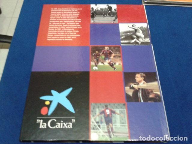 Coleccionismo deportivo: ALBUM MUNDO DEPORTIVO EL SIGLO DEL BARCA 100 AÑOS DE IMAGENES LOS CROMOS SIN PEGAR VER FOTOS - Foto 3 - 115199099