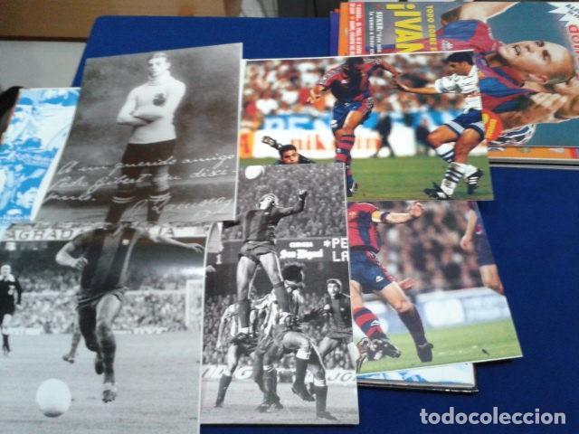 Coleccionismo deportivo: ALBUM MUNDO DEPORTIVO EL SIGLO DEL BARCA 100 AÑOS DE IMAGENES LOS CROMOS SIN PEGAR VER FOTOS - Foto 6 - 115199099