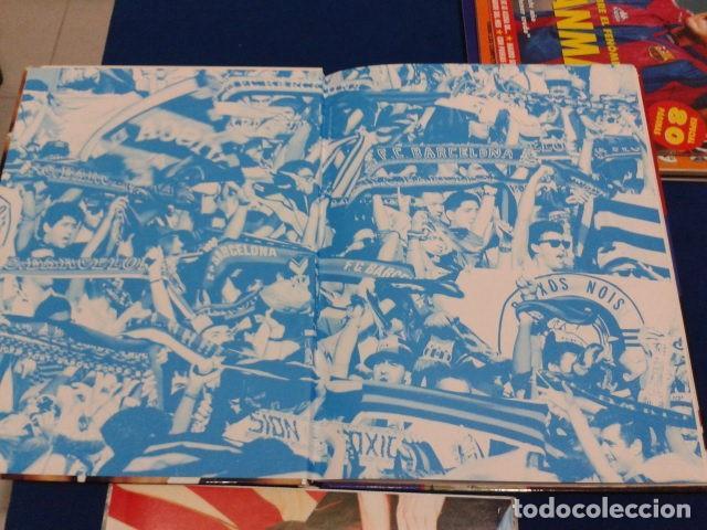 Coleccionismo deportivo: ALBUM MUNDO DEPORTIVO EL SIGLO DEL BARCA 100 AÑOS DE IMAGENES LOS CROMOS SIN PEGAR VER FOTOS - Foto 7 - 115199099