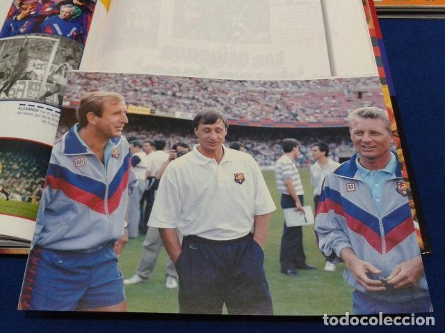 Coleccionismo deportivo: ALBUM MUNDO DEPORTIVO EL SIGLO DEL BARCA 100 AÑOS DE IMAGENES LOS CROMOS SIN PEGAR VER FOTOS - Foto 8 - 115199099