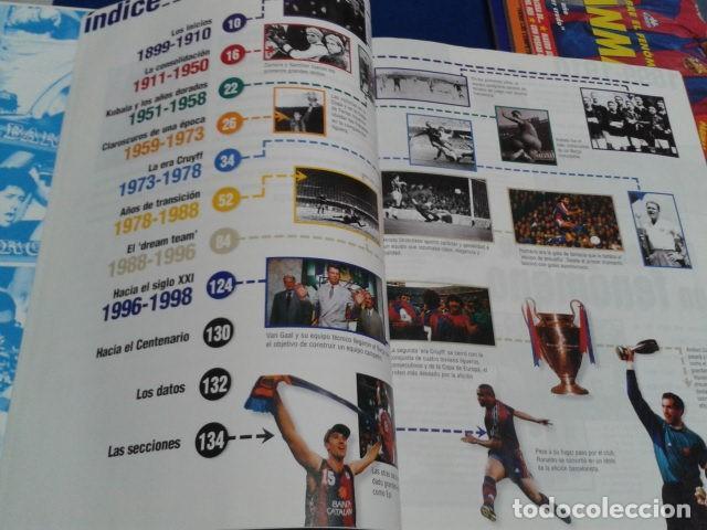 Coleccionismo deportivo: ALBUM MUNDO DEPORTIVO EL SIGLO DEL BARCA 100 AÑOS DE IMAGENES LOS CROMOS SIN PEGAR VER FOTOS - Foto 9 - 115199099