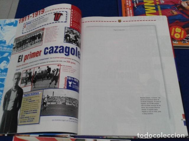 Coleccionismo deportivo: ALBUM MUNDO DEPORTIVO EL SIGLO DEL BARCA 100 AÑOS DE IMAGENES LOS CROMOS SIN PEGAR VER FOTOS - Foto 10 - 115199099