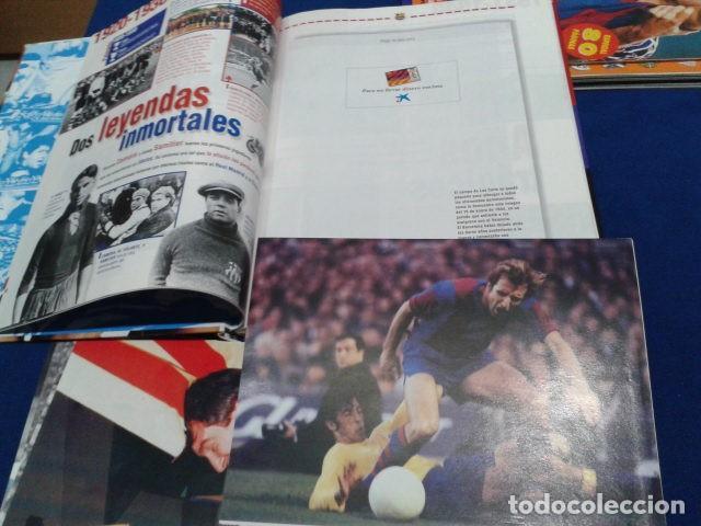 Coleccionismo deportivo: ALBUM MUNDO DEPORTIVO EL SIGLO DEL BARCA 100 AÑOS DE IMAGENES LOS CROMOS SIN PEGAR VER FOTOS - Foto 11 - 115199099