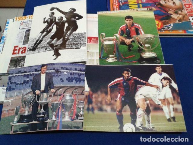 Coleccionismo deportivo: ALBUM MUNDO DEPORTIVO EL SIGLO DEL BARCA 100 AÑOS DE IMAGENES LOS CROMOS SIN PEGAR VER FOTOS - Foto 12 - 115199099