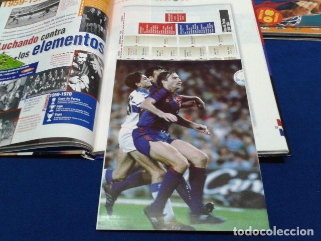 Coleccionismo deportivo: ALBUM MUNDO DEPORTIVO EL SIGLO DEL BARCA 100 AÑOS DE IMAGENES LOS CROMOS SIN PEGAR VER FOTOS - Foto 13 - 115199099